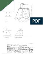pieza dibujo tecnico
