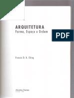 Arquitetura - Forma, Espaço e Ordem [Francis Ching] [Sem Capítulo_01]