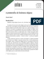A problemática do fenômeno religioso - resenha Simmel.pdf