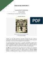 Classicismo no Maranhão [Primeiro Estilo Brasileiro]