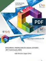 Instalacion Visual Studio 2015 y Primer Programa