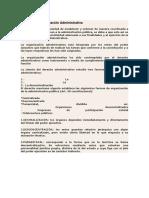 Formas de Organización Administrativa
