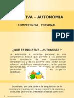 Iniciativa – Autonomia Capacitacion Xp