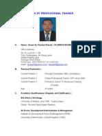 CV  Anuar Pandak Ahmad