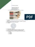 Material Para Pintar en Técnica Acuarela