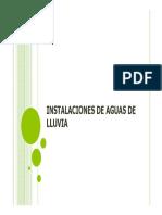 manual diseño de instalaciones para Aguas Lluvias