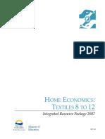 textile - ILOS - indicators - outcomes.pdf