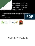 Estrategias de Integracion Comercial de Energía Renovable