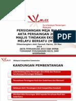 Akta Persaingan 2010 Dan Impak Kepada SME 20 Mac Prof Hasnah