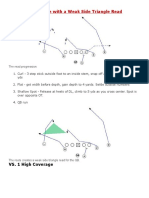Attacking Coverage With a Weak Side Triangle Read