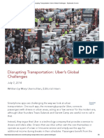 Disrupting Transportation_ Uber's Global Challenges - Diplomatic Courier