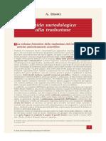 Diotti Guida Metodologica Alla Traduzione (SEI)