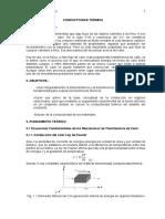 laboratorio conductividad termica