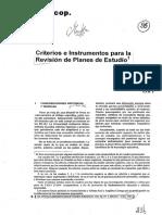 """Follari, Roberto A y Berruezo, Jesús (1981). """"Criterios e instrumentos  para la revisión de planes de estudios.pdf"""