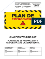 CHAMP-PLAN-EMERG-01 Preparación y Rpta Ante Emergencias - CHAMPION