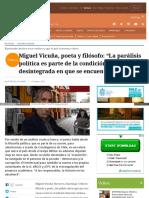 Www Elmostrador Cl Cultura 2017-03-12 Miguel Vicuna Poeta y