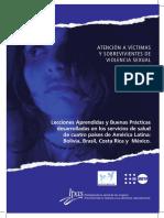 Buenas Prácticas en salud violencia sexual