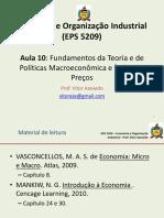 ECOI - Aula 9 (Fundamentos Da Teoria e Política Macro) - 2013