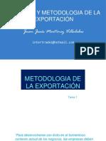 Sesión 1 Metodolgia de La Exportación