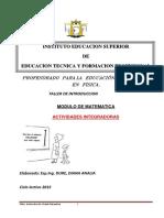 Modulo Matematica 2015