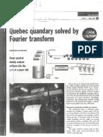 1998_Quebec Quandary Solved by Fourier Transform.pdf