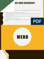 menus 2017