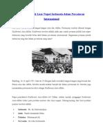 Peranan Politik Luar Negeri Indonesia Dalam Percaturan Internasional