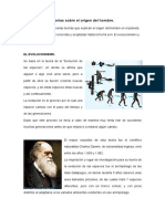 Teorías Sobre El Origen Del Hombre