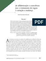 Alfabetizacao e Consciencia Fonologica