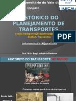 Evolução Do Planejamento de Transporte