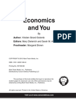 economics and you -supply and demand