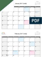 India January 2017 - December 2017