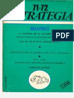Estrategia N° 71-72 - Malvinas (Gral. Guglialmelli)