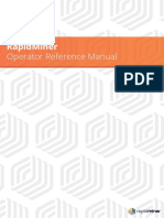 RapidMiner 5 Operator Reference