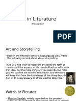 art in lit powerpoint - blairbri updated