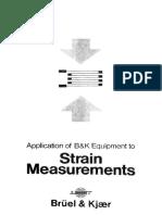 Bn1148_Application of B&K Eqiriprnent to Strain Measurement