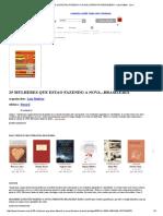25 Mulheres Que Estao Fazendo a Nova Literatura Brasileira - Luiz Ruffato - Livro
