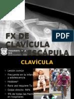 Fracturas de Clavcula y Escapula