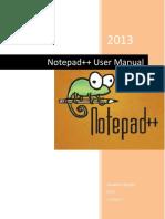 Notepad Plus Plus Manual