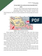 Tektonik Lempeng Dan Bencana Geologi Di Sumatera Dan Jawa