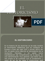 HISTORICISMO JURIDICO