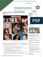 Artigo - Pornografia, A Rica Indústria Que Promove Pedofilia, Estupro e Exploração Sexual