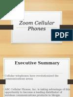 Bussines Plan Zoom Cellular Phones