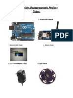 Arduino Smart Cities Air Quality Measurements Manual