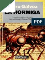 La Hormiga _ Pedro Gálvez