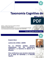 Taxonomía Cognitiva de Bloom