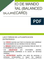 Presentacion Cuadro de Mando Integral (Balanced Scorecard)