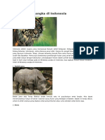 10 Binatang Langka di Indonesia.docx