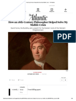 How David Hume Helped Me Solve My Midlife Crisis - The Atlantic