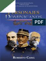 Personajes Dominicanos Tomo 2. Roberto Cassa